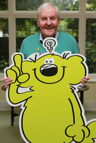 The wonderful Richard Briers